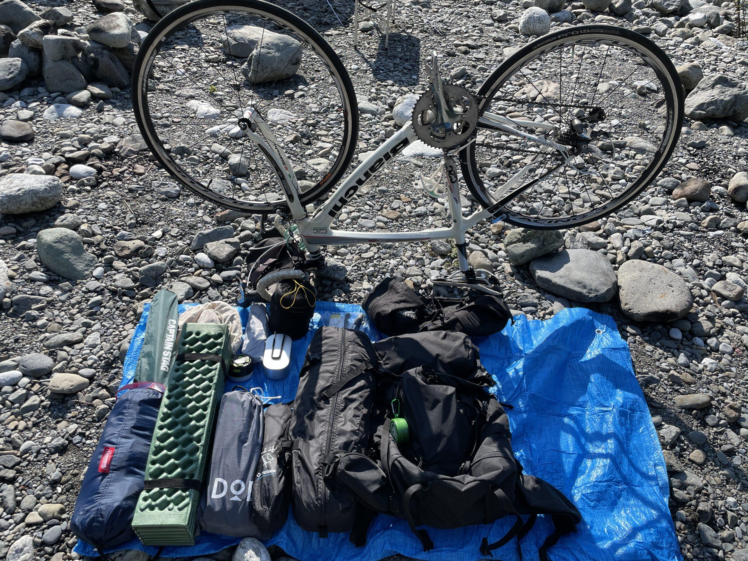 自転車キャンプ道具 (2)