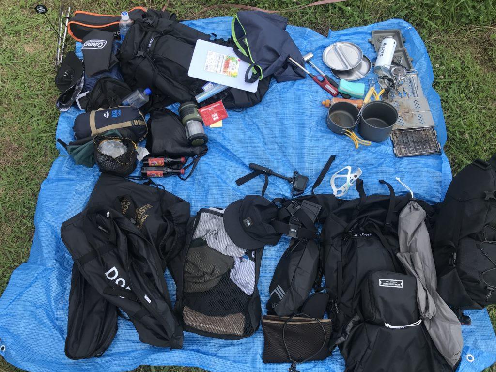 キャンプ道具