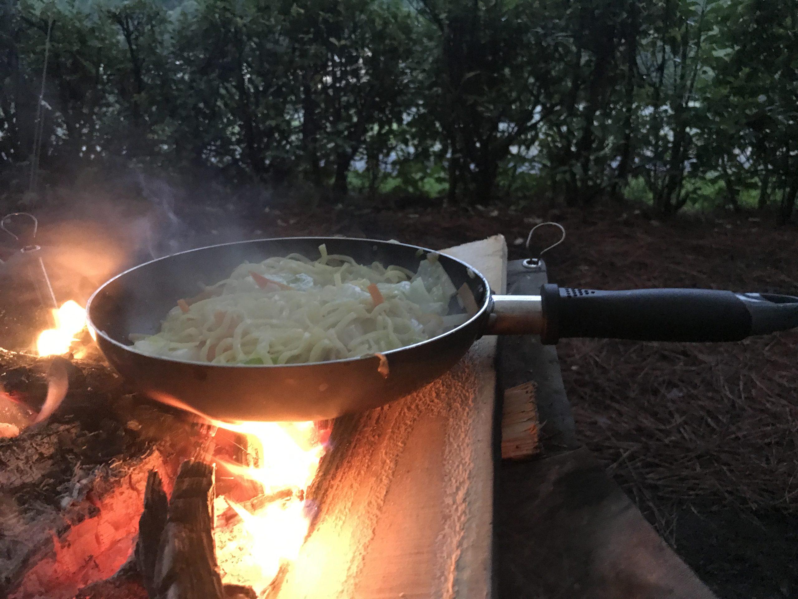 キャンプ夜飯 (3)
