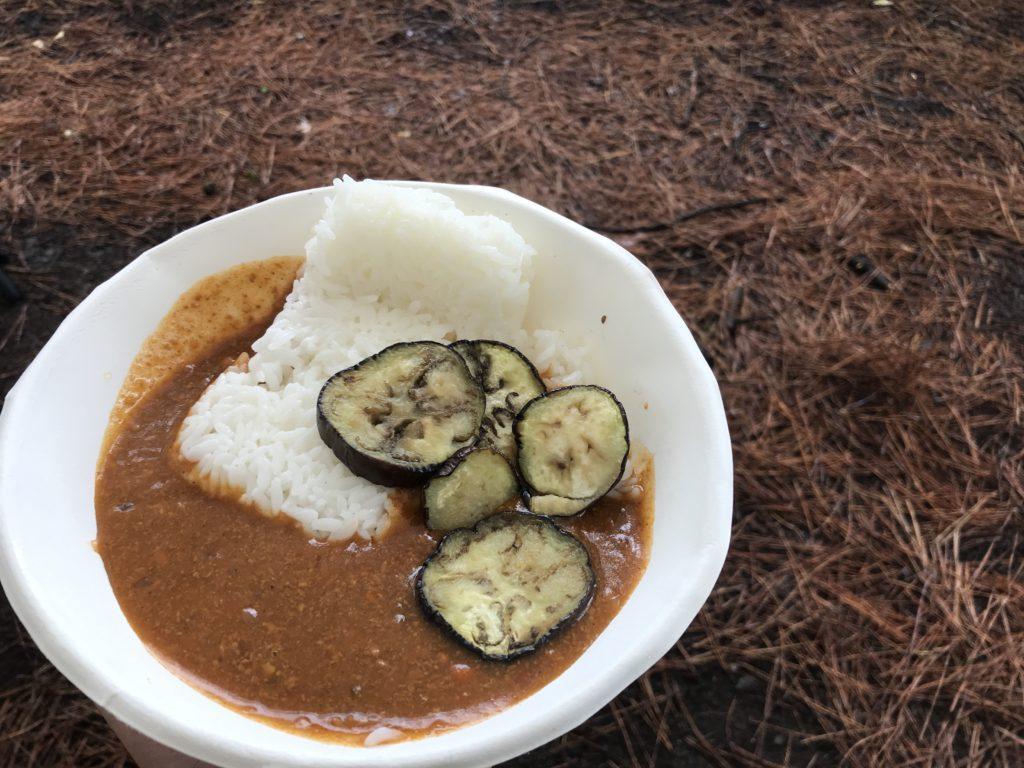 キャンプ昼飯 (3)