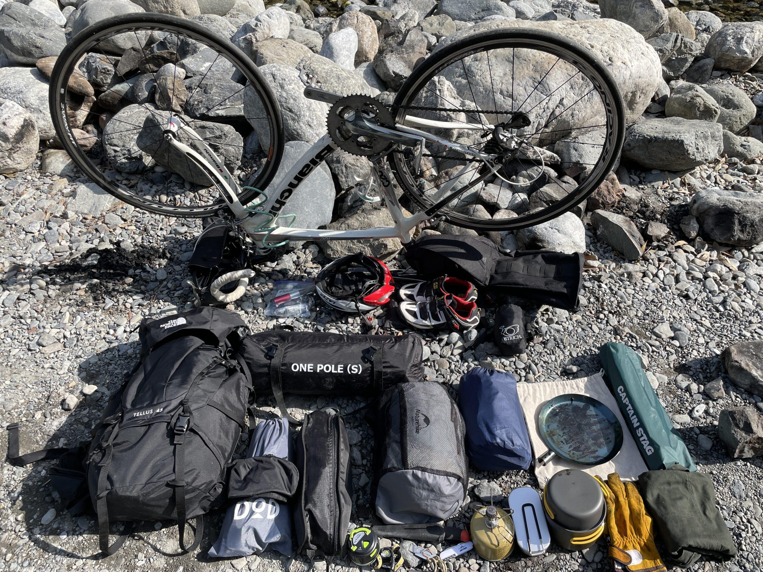 自転車キャンプ (2)